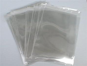 Bolsas de celofán, tamaño A4, 40 micras, transparentes, con autocierre, alta claridad, alta calidad, color 250