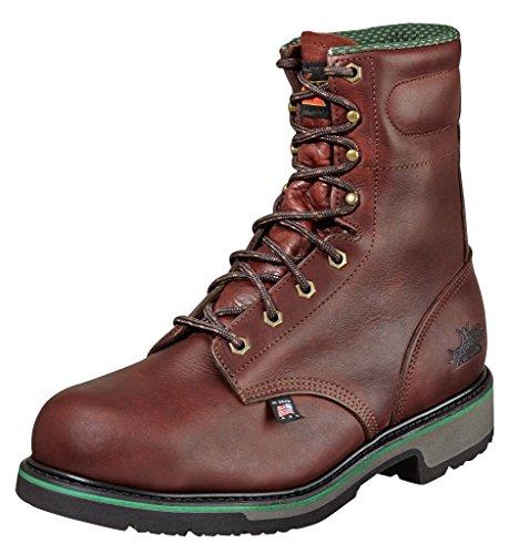 Thorogood Mens 8 PLAIN TOE Brown Work Boot 11.5 (B) YrAwepPAP