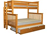 Best Bed With Trundle Missions - Bedz King Bunk Beds Twin over Full Mission Review