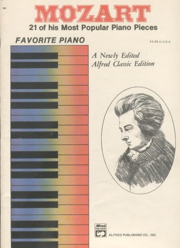 Twenty Popular Pieces (MOZART -- 21 of his most popular Piano Pieces (Favorite Piano))
