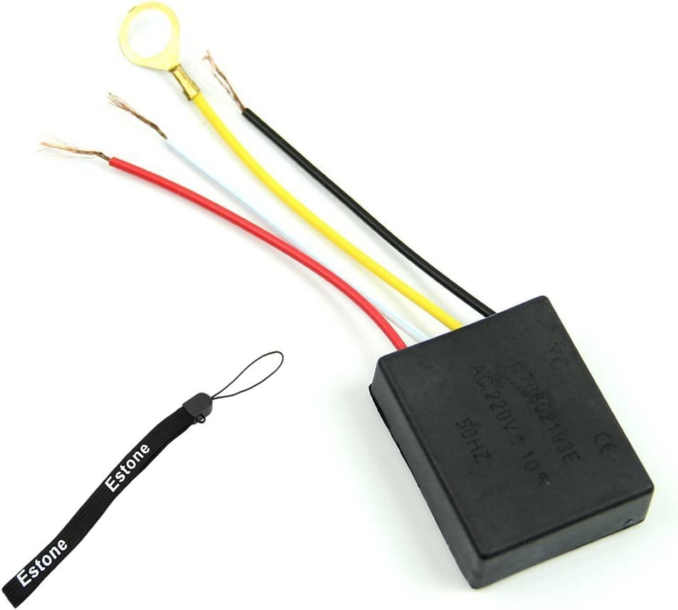New 1 Way On//off Desk light Parts Touch Control Sensor lamp Switch for Bulbs