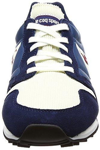 LE Homme Suede homme SPORTIF Omega Mesh basses Sneakers COQ pour Bleu Baskets AAqZw