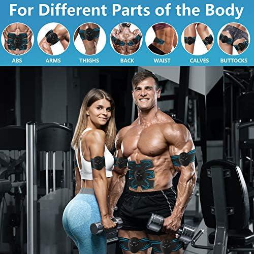 zociko Electroestimulador Muscular Abdominales Estimulador ...