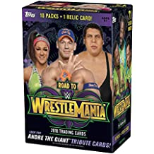 WWE 2018 Topps WWE Road to WrestleMania Value Box