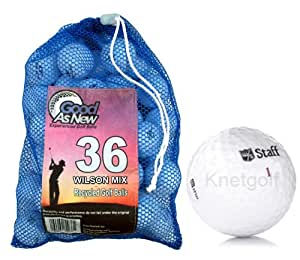 Wilson Pre-owned Golf Ball Mix (36 pack)