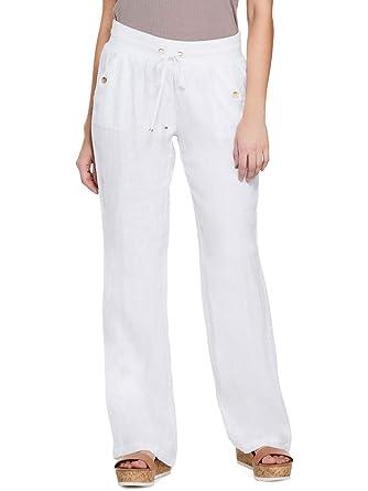 latest selection of 2019 100% original a few days away GUESS Factory Women's Sadia Wide-Leg Linen Pants