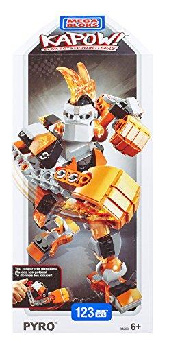 Mega Bloks Kapow Pyro Buildable Robot Warrior