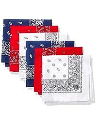 Levi's - Bandana de algodón 100% para hombre, set de regalo