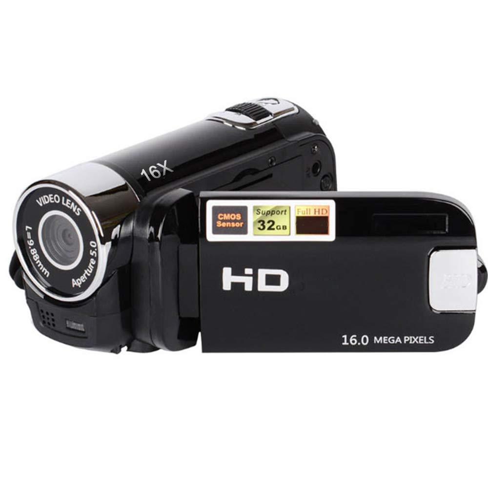 Springdoit Cámara Digital con cámara Full HD 1080P DV DV Digital Zoom Cámara USB DVR Visión Nocturna al Aire Libre: Amazon.es: Electrónica