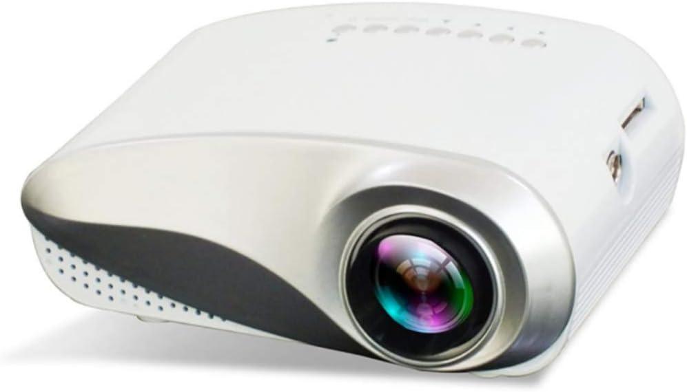 YTT El Mini Proyector LED Portátil para El Hogar, Salida De Alta ...