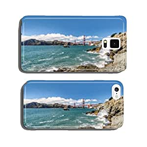 Sea, rocks and bridge Golden Gate cell phone cover case Samsung S5