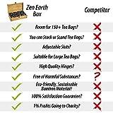 Zen Earth Bamboo Storage Box Tea Chest