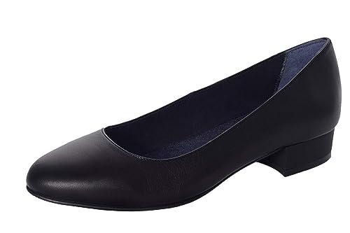 nero scarpe tacco comode