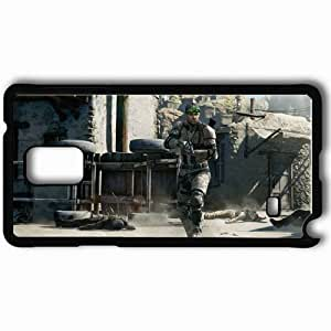 Personalized Samsung Note 4 Cell phone Case/Cover Skin Agent Sem Fisher Gun Weapon Black