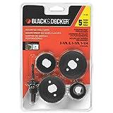 BLACK + DECKER 71-120-CA 5-Piece Hole Saw Assortment