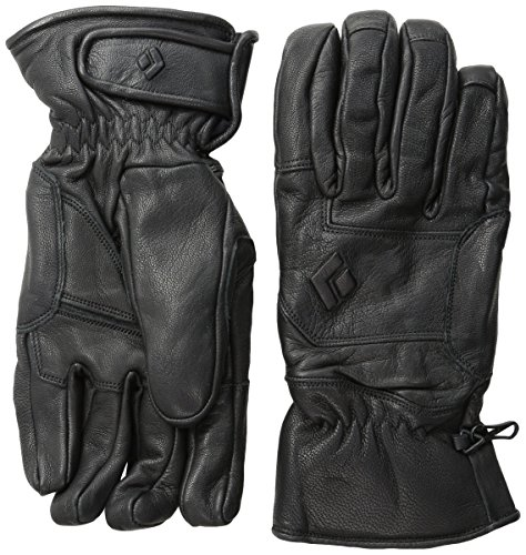 Black Diamond Kingpin Skiing Gloves, Black, X-Small