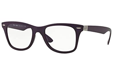 e1269135eb Image Unavailable. Image not available for. Color  Ray Ban RX7034 5443  Violet Liteforce Frame 52 mm Optical Lens Eyeglasses New