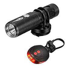 Bike Light Sets Rechargeable