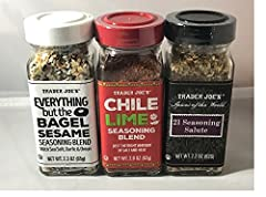 Chili Lime Trader Joe's has perfected the Classic Flavor Fusion; just the right amount of salt and heat Offered by the street vendors throughout Mexico; to sprinkle on their fresh fruits & veggies Authentic flavor of tart lime juice, a to...