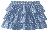 The Children's Place Little Girls' Knit Twill Tiered Skirt