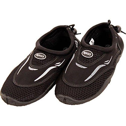 Shoes Aqua Slip Women's on Water LEMON Black Socks qY7BO
