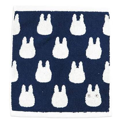 Studio Ghibli Mi vecino Totoro toalla de lavado (pequeño Totoro silueta de Japón
