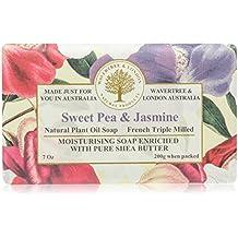 Australian Soapworks Wavertree & London 200g Soap - Sweet Pea & Jasmine