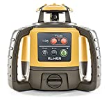 Topcon RL-H5A Self Leveling Horizontal Rotary Laser with Bonus EDEN Field Book| IP66 Rating Drop, Dust, Water Resistant| 800m Construction Laser| Includes LS-80L Receiver, Detector Holder, Soft Case