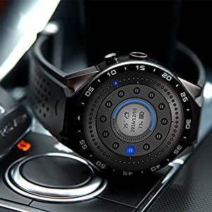 Sanzhileg King-Wear KW88 SmartWatch Podómetro Dispositivo de Ritmo ...
