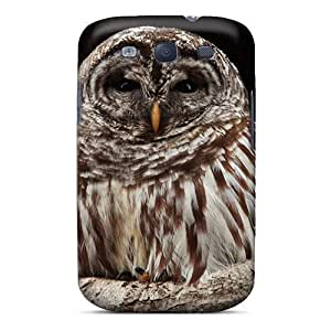Excellent Galaxy S3 Case Tpu Cover Back Skin Protector Owl In Hollow Tree