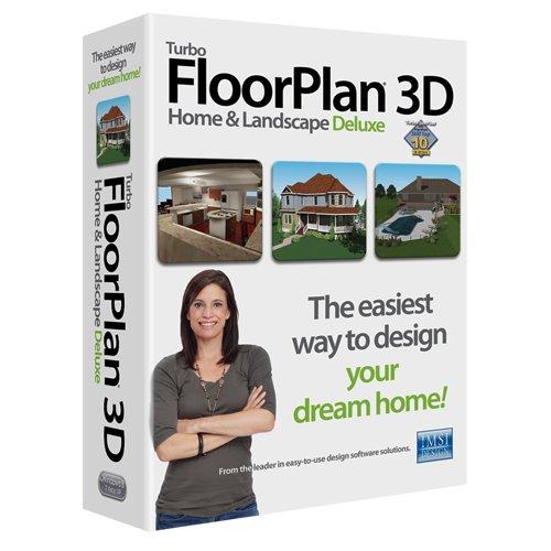 Turbo FloorPlan Home & Landscape 3D Deluxe 2015 PC Floor Plan