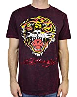 Ed Hardy Men's T Shirt Tiger