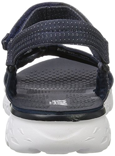 Skechers Performance Donna In Viaggio 400 Radiance Flip Flop Navy / White