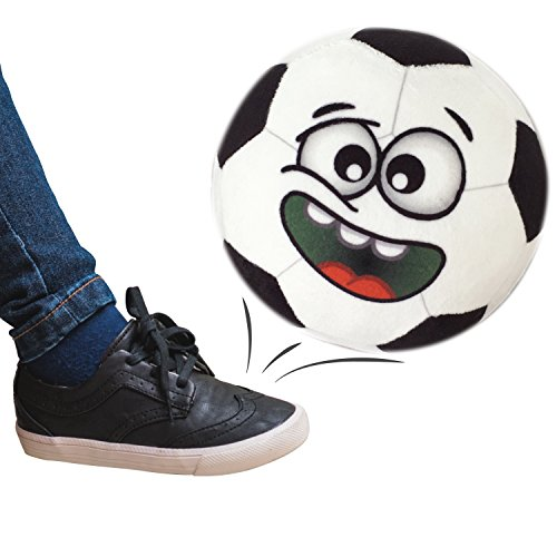 Talkin Sports Hilariously Interactive Toy Soccer Ball with Music and Sound FX For Kids and Toddlers By Move2Play