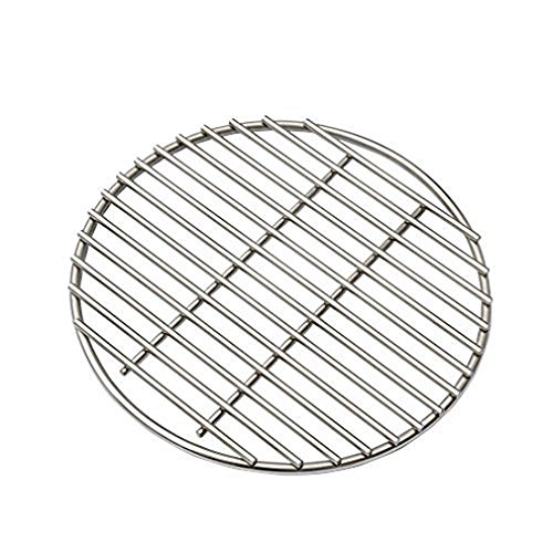 Dome Cast Iron Fire Pit - Onlyfire Stainless Steel High Heat Charcoal Fire Grate for Kamado Joe Big Joe Grill, 12-Inch