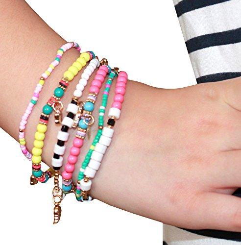 Syleia Bohemian Colorful Multilayer Bracelet