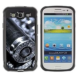 LASTONE PHONE CASE / Suave Silicona Caso Carcasa de Caucho Funda para Samsung Galaxy S3 I9300 / Bullet