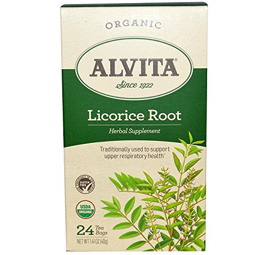 Alvita Licorice Root Tea Organic, Pack of 3
