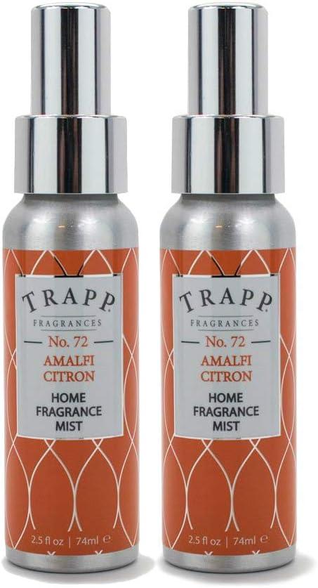 Trapp Home Fragrance Mist - No. 72 Amalfi Citron, 2.5 oz (2 Pack)