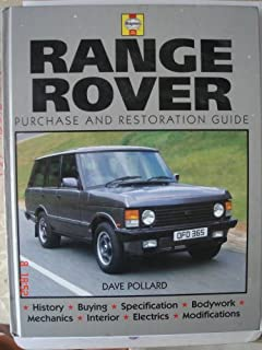 restoration manual range rover restoration manuals dave pollard rh amazon com 2008 Range Rover Supercharged Interior Range Rover Classic Modifications