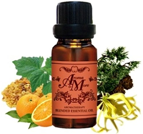 Meditation : An Earthy Blend Of Essential Oils Traditionally Used For Meditation (Frankencense / Patchouli /Ylang Ylang / Orange / Cedarwood) 100 ml (3 1/3 Fl Oz) Premium Grade-Beauty by Aroma & More