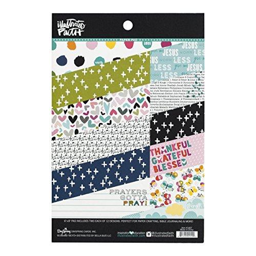 Illustrated Faith - Paper Pad  - Prayers ()