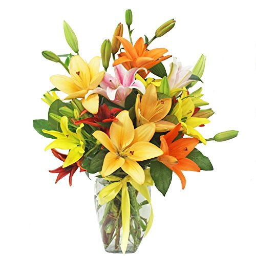 Assorted Lilies by Ashland Addison - Mother's Day - Fresh Flowers Hand Delivered - Chicago Area by Ashland Addison Florist