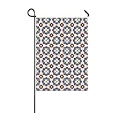 "excellent patio tile design ideas Lucy Curme Arabic Tiles Pattern Garden Flag Outdoor Patio Seasonal Holiday 12"" x 18"""