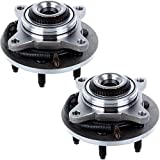 ECCPP Pair New brand wheel hub and bearing assembly fits Ford F-150, Lincoln Mark LT 4x4 6 Lugs W/ABS 515079X2