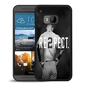 Derek Jeter RE2PECT New York Yankees Black HTC ONE M9 Screen Phone Case Newest and Genuine Design