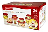 Rubbermaid Easy Find Lid 24-Piece Food Storage Container Set, Appliances for Home