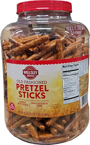 Wellsley Farms Pretzel Sticks, 55 Ounce -