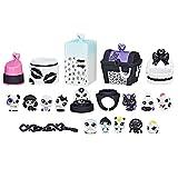 Littlest Pet Shop C2896AS00 Black & White Pack 3 Playset
