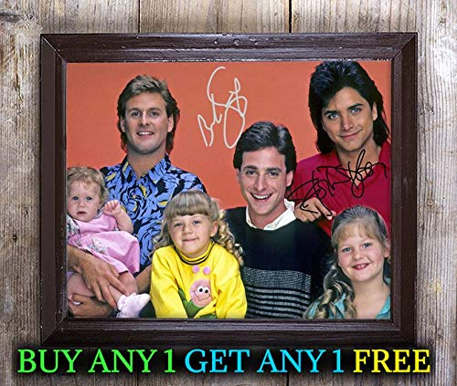 Full House Tv Show Cast Autographed Signed 8x10 Photo Reprint #69 Special Unique Gifts Ideas Him Her Best Friends Birthday Christmas Xmas Valentines Anniversary Fathers Mothers Day